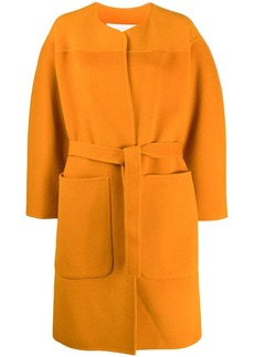 See by Chloé belted oversized coat