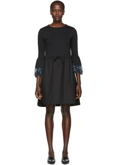 See by Chloé Black Detailed Cuff Dress