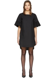 See by Chloé Black Flared Sleeve Dress