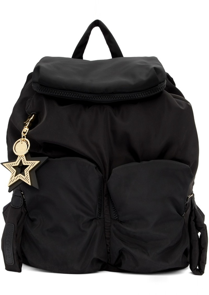 See by Chloé Black Joy Rider Backpack