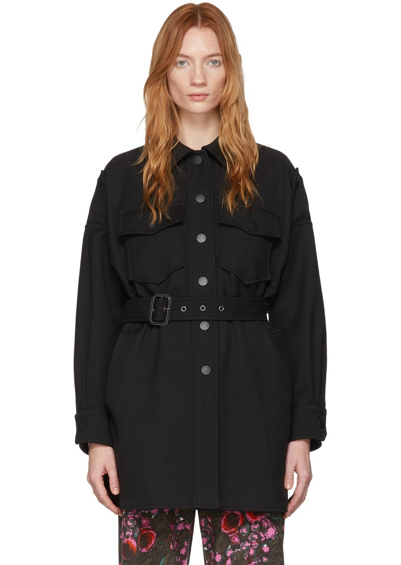 See by Chloé Black Pocket Jacket