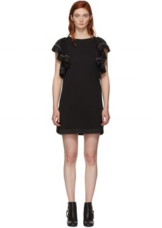 See by Chloé Black Ruffled Dress