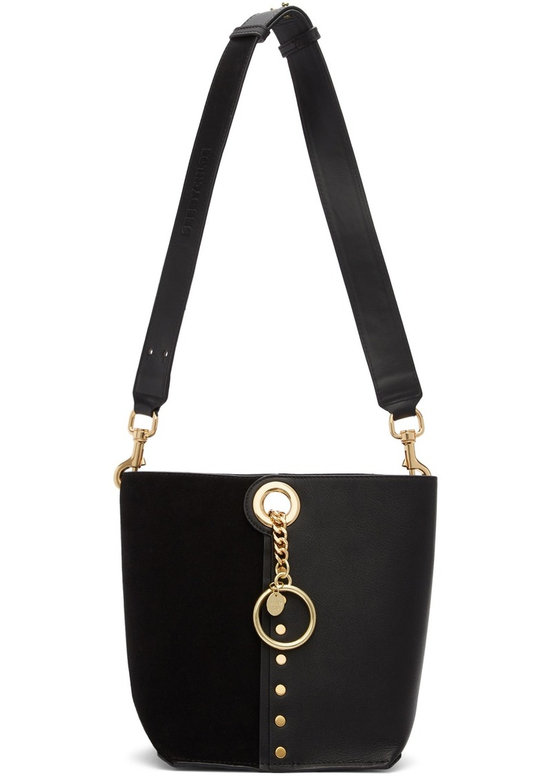 See by Chloé Black Small Gaia Tote
