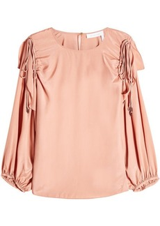 See by Chloé Blouse with Silk