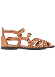 See by Chloé braided strappy sandals