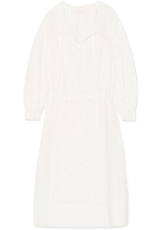 See by Chloé Broderie anglaise cotton dress