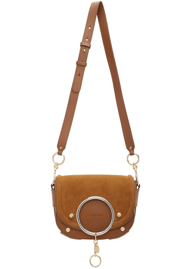See by Chloé Brown Mara Crossbody Bag