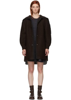 See by Chloé Brown Oversized Coat