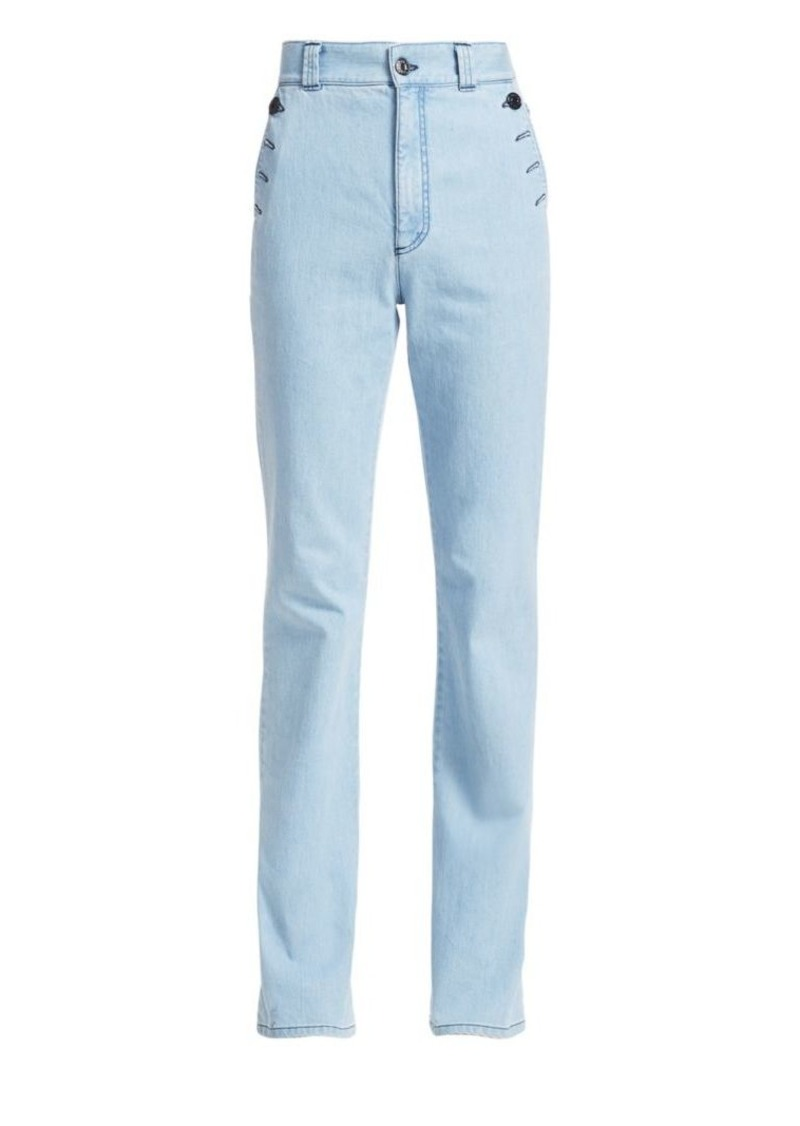 See by Chloé Button Pocket Jeans