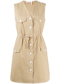 See by Chloé button up cotton day dress