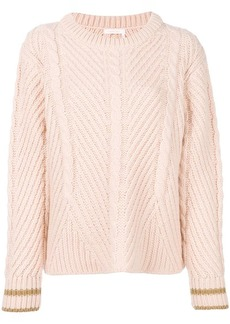 See by Chloé cable knit sweater