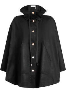 See by Chloé Cape Coat with Wool