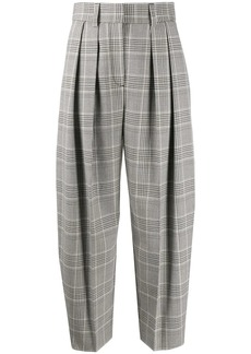 See by Chloé checked tapered trousers