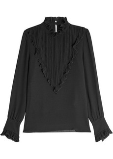 See by Chloé Chiffon Blouse with Ruffles
