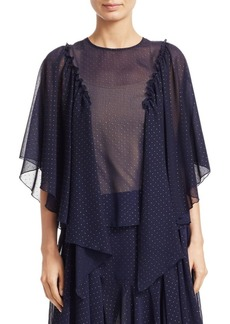 See by Chloé Chiffon Studded Blouse