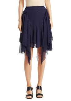 See by Chloé Chiffon Studded Skirt