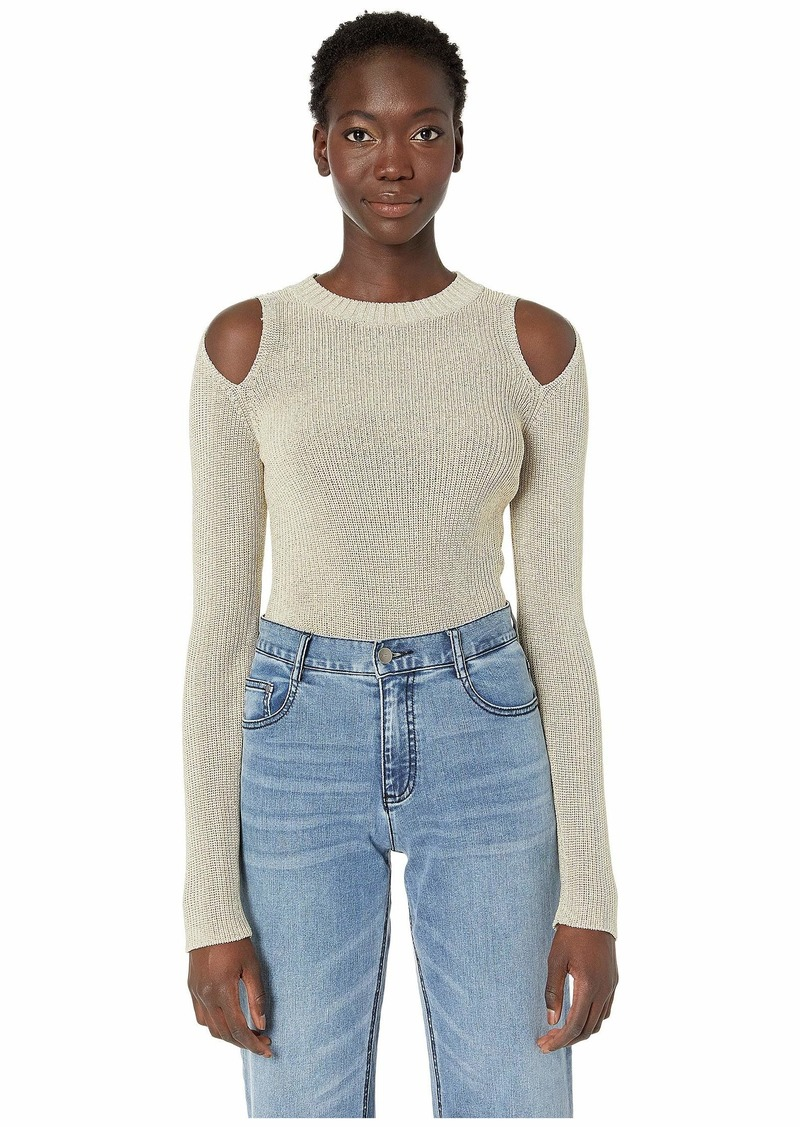 See by Chloé Cold Shoulder Knitted Top
