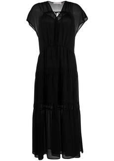 See by Chloé layered style tiered dress