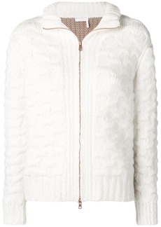 See by Chloé chunky contrast cardigan