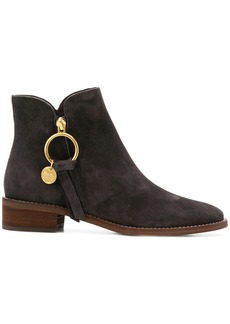 See by Chloé chunky heel boots