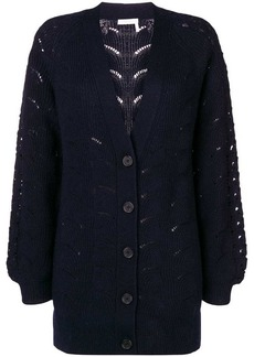 See by Chloé chunky knit cardigan