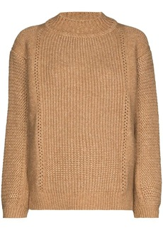 See by Chloé chunky-knit high-neck jumper