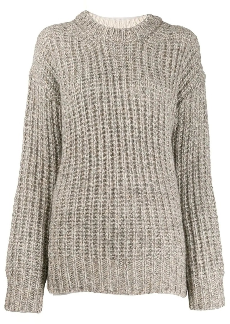 See by Chloé chunky knit jumper