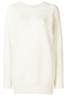 See by Chloé chunky-knit longline sweater