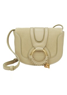 See by Chloé Circle Detail Green Shoulder Bag