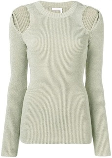 See by Chloé cold shoulder jumper