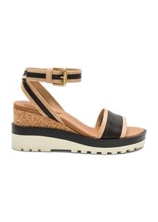 See by Chloé Colorblock Wedge