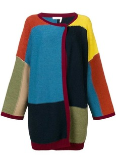 See by Chloé colour-block cardigan