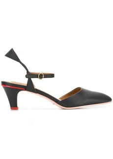 See by Chloé contrast heel pumps