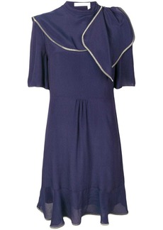See by Chloé contrast stitching dress