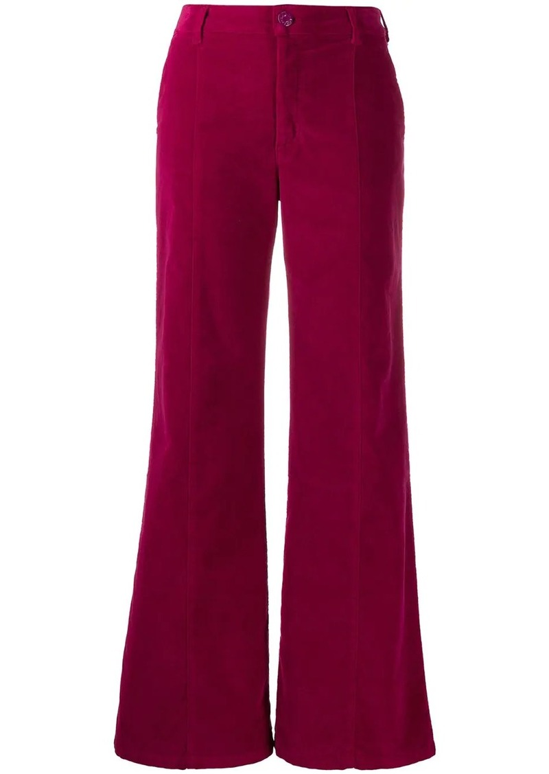 See by Chloé corduroy flared trousers