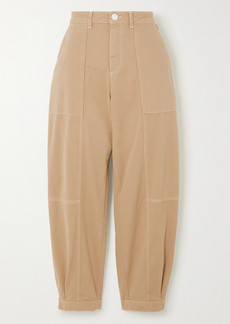 See by Chloé Cotton-blend Gabardine Pants