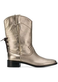 See by Chloé cowboy inspired mid calf boots
