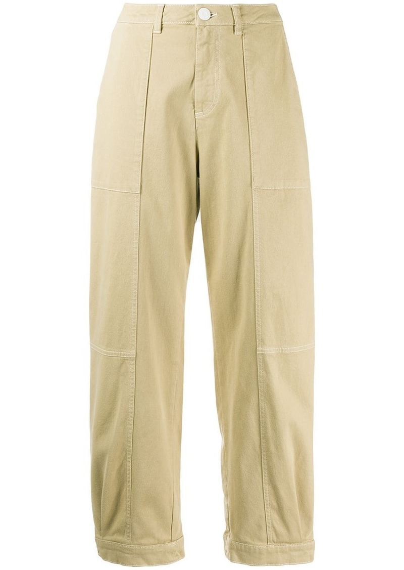 See by Chloé cropped cargo trousers