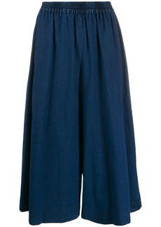 See by Chloé cropped denim trousers