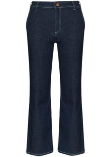 See by Chloé cropped flare jeans