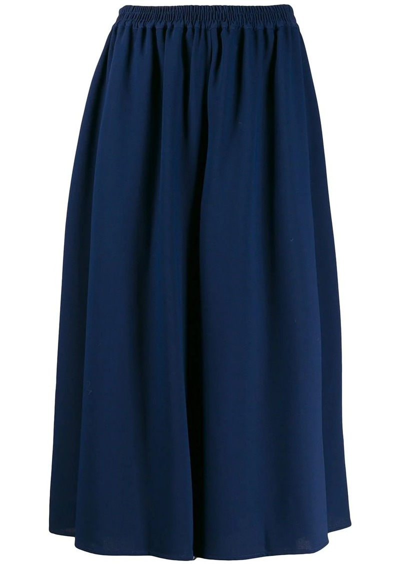 See by Chloé cropped flared trousers