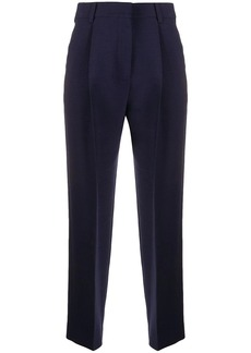 See by Chloé cropped pleated trousers