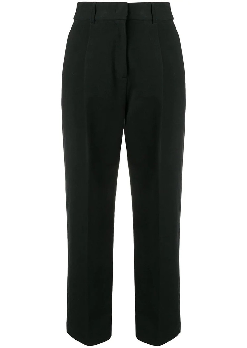 See by Chloé cropped straight trousers