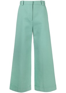 See by Chloé cropped wide-leg jeans