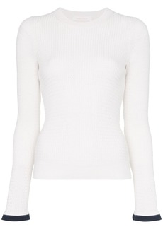 See by Chloé cut-out knit top