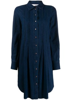 See by Chloé denim collared dress