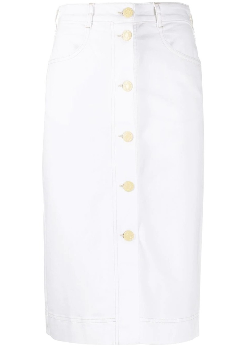 See by Chloé denim pencil skirt