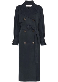 See by Chloé midi trench coat