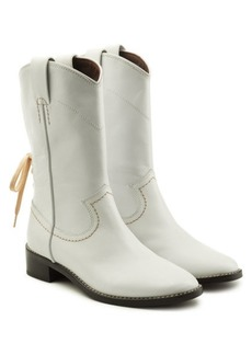 See by Chloé Devon Leather Ankle Boots