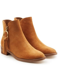 See by Chloé Devon Suede Ankle Boots